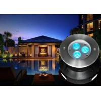 Buy cheap 1 x 4W RGBW 4in1 LED Underwater Fountain Lights With 8MM Step Tempered Glass For Pool Lighting from wholesalers