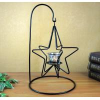 Buy cheap home decoration star shaped table metal candle holder from wholesalers