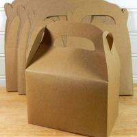 Buy cheap 2015 Custom Kraft Gable Boxes from wholesalers