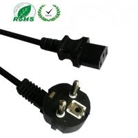 Buy cheap European Schuko plug to C13 power cord, VDE approved cordset with CEE7/7 plug from wholesalers