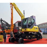 Buy cheap High Strength 12ton Long Reach Excavator , Bucket Wheel Excavator from wholesalers