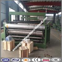 Buy cheap 4-40 mesh CNC shuttleless stainless steel square Hole wire mesh weaving machine from wholesalers