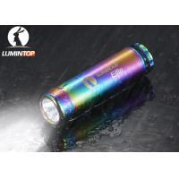 Buy cheap Self Luminlous EDC LED Flashlight With Personalized Chromatic Body from wholesalers