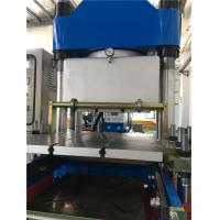 Buy cheap 400 Ton 350 Plunger Stroke Twin molding station Vulcanizer With Vacuum Cover / Rubber Compression Moulding Machine from wholesalers