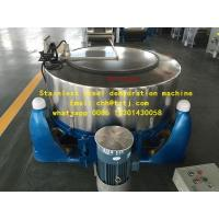 Buy cheap dewatering machine Three foot centrifugal ,Stainless steel dehydration machine from wholesalers