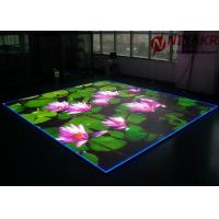 Buy cheap P3.91 Programmable LED Floor Display Seamless Stitching For Disco Club DJ Events from wholesalers