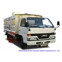 Buy cheap JMC Truck Mounted Road Sweeping Machine With 4 Brushes 5.5 Cbm Trash 1,5 Cbm Water from wholesalers