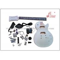 Buy cheap LP Style Solid Basswood DIY Electric Guitar Kits With Rosewood Fingerboard from wholesalers