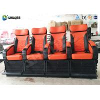 Buy cheap 4 People 4D Movie Theater With Electric / Pneumatic / Hydraulic Power Mode product