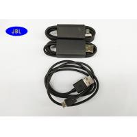 Buy cheap 800mm Black Smartphone USB Cable Data Transfer / Charging USB Reversible Cable product