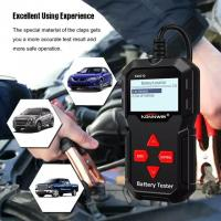 Buy cheap KONNWEI KW210 Automatic Smart 12V Car Battery Tester Auto Battery Analyzer 100 to 2000CCA Cranking Car Battery Tester from wholesalers