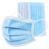Buy cheap Anti Viral 3 Ply Non Woven Face Mask Personal Care Earloop Procedure Masks from wholesalers