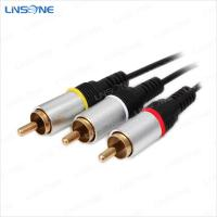 Buy cheap Hight quality audio/video male to male RCA cables from wholesalers