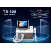 Buy cheap Portable 808nm Diode Laser Hair Removal Machine 755nm / 808nm / 1064nm from wholesalers