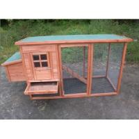 Buy cheap Top selling wooden pet house with large run from wholesalers
