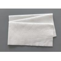 Buy cheap Embossed Disposable Bathroom Towels Sensitive Skin Suitable Comfortable Cottony Feel from wholesalers