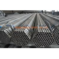 Buy cheap Q235 Q345 Greenhouse Pre Galvanized Steel Tubing , ERW Steel Structure Pipe from wholesalers