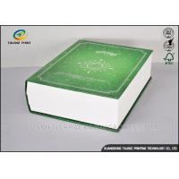 Buy cheap Book Shaped Cosmetic Packaging Boxes UV Coating Printing Face Mask Gift Box product
