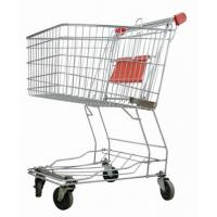 Buy cheap Grocery Store Shopping Carts Unfolding Style Zinc Plated Surface Treatment from wholesalers