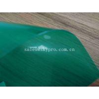 Buy cheap Eco - Friendly Green High Glossy PVC Conveyor Belt / Smooth Clear PVC Sheet from wholesalers