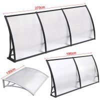 Buy cheap Durable Solid Polycarbonate Awning , PC Door Canopy Patio Cover Long Life Span from wholesalers