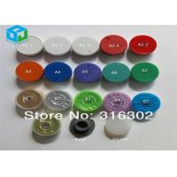 Buy cheap Different Color Rubber Medicine Vial Flip Top Caps For Filling Steroid Liquid from wholesalers