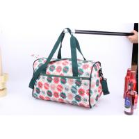 Buy cheap OEM High Quality Beautiful flower printing cheap luggage for travel or sports from wholesalers