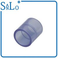 Buy cheap Coupling Clear Drain Threaded Pvc Pipe Fittings For Garden Irrigation Plastic from wholesalers