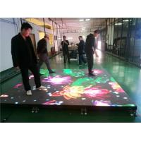 Buy cheap Waterproof Intelligent Dance Floor LED Screen Display For Entertainment Center from wholesalers
