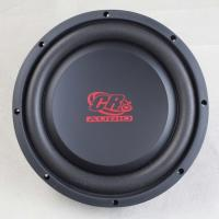 Buy cheap Round Shaped Automotive Powered Subwoofer 10 inch  87.3 dB Spl 21 Litre Flexible Foam from wholesalers