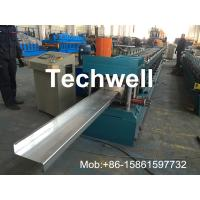 Buy cheap Z Channel / Section / Profile Cold Roll Forming Machine For 80 - 300 Width Z Channel from wholesalers
