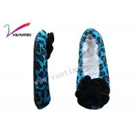 Buy cheap Micro velvet womens slipper shoes / Unisex flat comfortable shoes from wholesalers