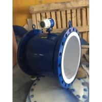 Buy cheap Large Diameter Industrial Flow Meter DN800  Electromagnetic Flow Meter With Lower And Upper Alarm from wholesalers