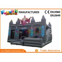 Buy cheap Gray Kids Inflatable Castle / Blow Up Bouncer Slide For Kindergarten / Amusement Park from wholesalers