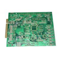 Buy cheap Quick Turn Prototype PCB Board Multi Layer Punching Green 16 Layer HAL / ENIG from wholesalers