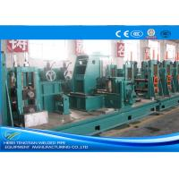 Buy cheap High Precision Seamless Pipe Mill , Friction Saw Cutting Pipe Tube Mill Custom from wholesalers