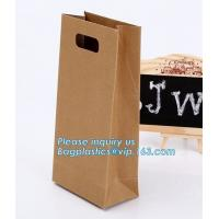 Buy cheap paper bags with flat handle,cement packaging paper bags , strong brown paper bags,Take out brown kraft paper bread bag f from wholesalers
