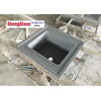 Buy cheap Lab Grey Epoxy Resin Worktop Lab Tables Work Benches With Dropln Sink product