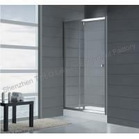 Buy cheap Straight frameless glass shower 1600mm x 1850mm with Aluminium Frame product