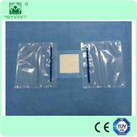 Buy cheap disposable eye drape with hole,3M incision film and fluid pouch from wholesalers