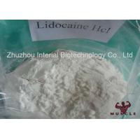 Buy cheap Legal Local Analgesic Powder CAS 73-78-9 Lidocaine HCl Powder No Side Effect from wholesalers