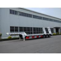 Buy cheap Customized Low Loader Heavy Duty Trailers , Lowbed Semi Trailer With Landing Gear from wholesalers