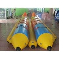 Buy cheap Large  Inflatable water Banana Boat Commercial grade for lake or sea from wholesalers