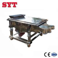 Buy cheap Linear vibrating screen used for soya bean,wheat bran,rice bran from wholesalers