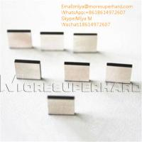 Buy cheap CVD synthetic diamond plates for ultra precision cutting tools miya@moresuperhard.com from wholesalers