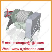 Buy cheap Mooring Synthetic Rope Electric Winch from wholesalers