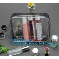 Buy cheap recyclable travel PVC cosmetic bag travel set bag, PVC Zip Lock Plastic Cosmetic Travel Packaging Bag, PVC Zipper Travel from wholesalers
