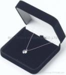 Buy cheap velvet necklace box velvet aiglet box velvet jewelry box velvet earring box from wholesalers