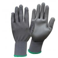 Buy cheap Fingertip Palm Coated Nylon Safety Working Gloves PU Coated Gloves from wholesalers
