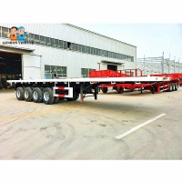Buy cheap High Bed 8 Wheel Drive Drawbar 40t Container Semi Trailer from wholesalers